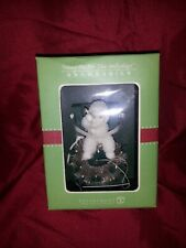 Dept 56 snowbabies ornament Hang on for the Hollydays