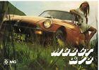 MG MGB GT COUPE & MGB GT V8 COUPE ORIGINAL 1975 FACTORY UK SALES BROCHURE
