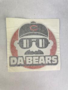 "Chicago Bears Mike Ditka Da Bears 4"" Decal Sticker"
