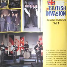 BRITISH INVASION History Rock Vol 2 - NEW SEALED 1988 Vinyl LP YARDBIRDS KINKS