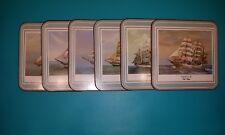 Pimpernel Six Coasters TALL SHIPS / Untersetzer