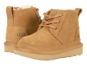 Toddler UGG Neumel II Boot Suede Upper 1017320T Chestnut 100%Authentic Brand New