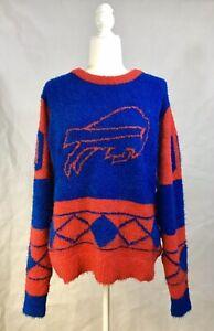 NWT Medium Buffalo Bills NFL Sweater KLEW Fall Winter Sweater Womens - $80 MSRP