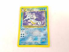 Pokemon TCG Card Neo Genesis Kingdra 8/111 are Holo