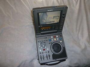 SONY DSR-70 PORTABLE EDITING VTR RECORDER