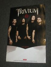 TRIVIUM - Shogun promotional promo 2-sided poster