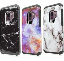 For Samsung Galaxy S9 - HYBRID HARD TPU RUBBER ARMOR SHOCKPROOF PHONE CASE COVER