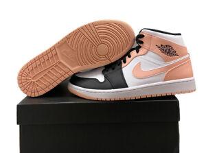 "Nike Air Jordan 1 Mid ""Crimson Tint"" 554724-133 Mens Size 10 BNIB"