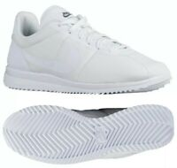 Nike Cortez Ultra White/White/Cool Grey Ripstop Shoes Mens, sz 6, size 6