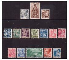 Germany - SG FR 1/15 - u/m - 1947 - 2pf -grey - 1m brown