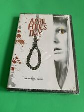 April Fools Day (DVD,1986,2002)*BRAND NEW SEALED Read!!