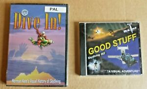 Lot 2 DVD Dive IN Good Stuff) (Tom Gates) . Parachuting Freestyle And Stunts