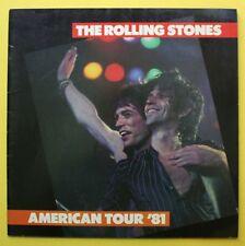 Original Rolling Stones 1981 Tour Concert Program