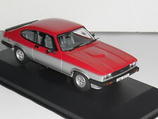 Vanguards VA10817 FORD CAPRI MK3 1.6 CALYPSO IN RED & SILVER LTD-1100. NEW ISSUE