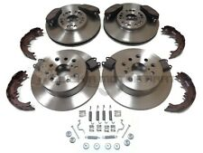 FRONT & REAR BRAKE DISCS PADS & SHOES + FITTING KIT FOR LEXUS IS200 IS300 99-06