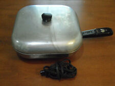 Vintage Sunbeam Controlled Heat Automatic Fry Pan with Lid Model FP-11A FRYPAN