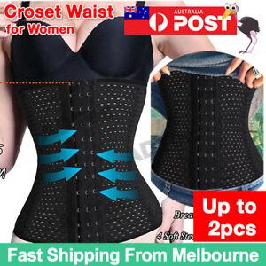 Women's Waist Trainer Cincher Tummy Girdle Belt Body Shaper Slimming Corset Wrap
