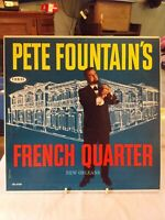 1961 Pete Fountains French Quarter New Orleans LP 33 Vinyl Coral Records Jazz