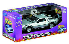 WELLY Back to The Future 1 Delorean Time Machine 1/24 Scale