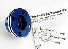 Traxxas 4012 Backplate, machined aluminum (blue-anodized)UK Modelshop