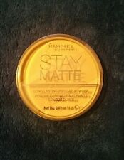 NEW Rimmel Stay Matte Pressed Powder Creamy Natural 011 0.49 Ounce
