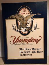 "Vintage Yuengling Beer Cardboard Advertising Display Sign Pottsville PA 15""x22"""