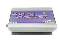 Grid Tied Inverter for photovoltaic system 1000W, 22V-60VDC Input,120V AC Output