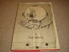 Neil Morris GLOBAL LAWYER hardback SIGNED limited 1st edition 1988 w/photos