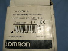 OMRON  D40B-J2  D40BJ2 NON CONTACT SAFETY SWITCH CONTROLLER