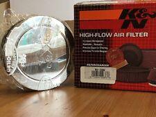K&N RA-066V Air Filter - Universal Chrome Filter