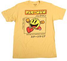 Mens Pac-Man Retro Video Game Arcade Yellow Vintage Japanese T-Shirt Classic Tee