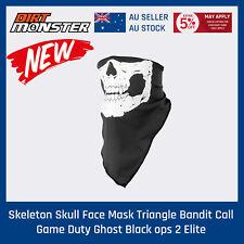 Skeleton Skull Face Mask Triangle Bandit Call Game Duty Ghost Black ops 2 Elite