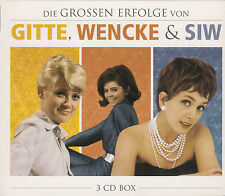 Die grossen Erfolge von Gitte Haenning, Wencke Myhre u. Siw Malmkvist - 3 CD Box
