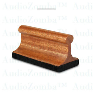 VINYL RECORD BRUSH AFRICAN SAPELE FIDELITY™ ANTI-STATIC RECORD CLEANING BRUSH