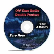 Zero Hour, I Love a Mystery Complete Set, 701 Old Time Radio Shows OTR DVD F83