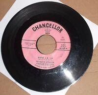 Frankie Avalon Ooh La La Chancellor Record 45 rpm Dede Dina