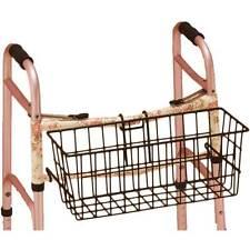 Nova Walker Basket Heavy Gauge Durable Steel For Standard Walkers