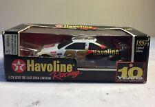 1997 Racing Champions Nascar #28 Texaco Havoline Racing Stock Car Bank 1:24