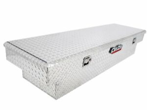 For 1999-2019 Chevrolet Silverado 1500 Bed Rail to Rail Tool Box Dee Zee 63519BS
