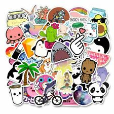 50Pcs Stickers Pack For Children On The Laptop Fridge Phone Skateboard Suitcase
