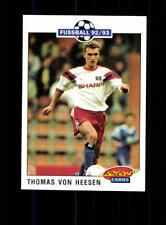 Thomas von Heesen  Hamburger SV SC Panini Action Card 1992-93+ A 183186