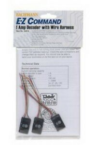 Bachmann 44914 HO 1-Amp DCC Decoder ( 28/128 Speed Step ) w/ Wire Harness