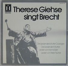 Bertold Brecht 33 tours Therese Giehse