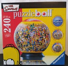 Ravensburger 240 Piece Puzzleball The Simpsons Complete FREE DELIVERY