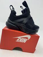 TODDLER BOYS: Nike Presto Extreme Shoes, Black - Size 4C 870019-001