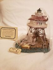 Harbour Lights 180 Drum Point, Md Lighthouse, Coa, Box #3105 c. 1996 New