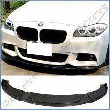 For 11-15 BMW F10 535i 550i 4D M-Tech Bumper H Look Carbon Fiber Front Lower Lip