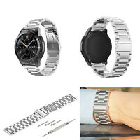 Stainless Steel Frosted Watch Strap Band Bracelet Wrist 22mm For Samsung Gear S3