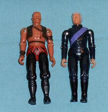 """vintage Buck Rogers DR. HUER & TIGER MAN 3 3/4"""" action figure lot"""