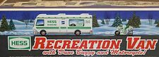 Hess 1998 Truck Recreation Van +Dune Buggy and Motorcycle New in Box SAMEDAYSHIP